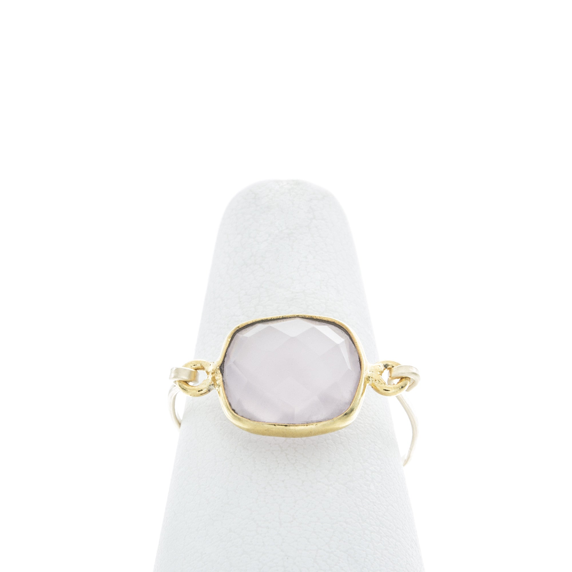 Square Gemstone Rings