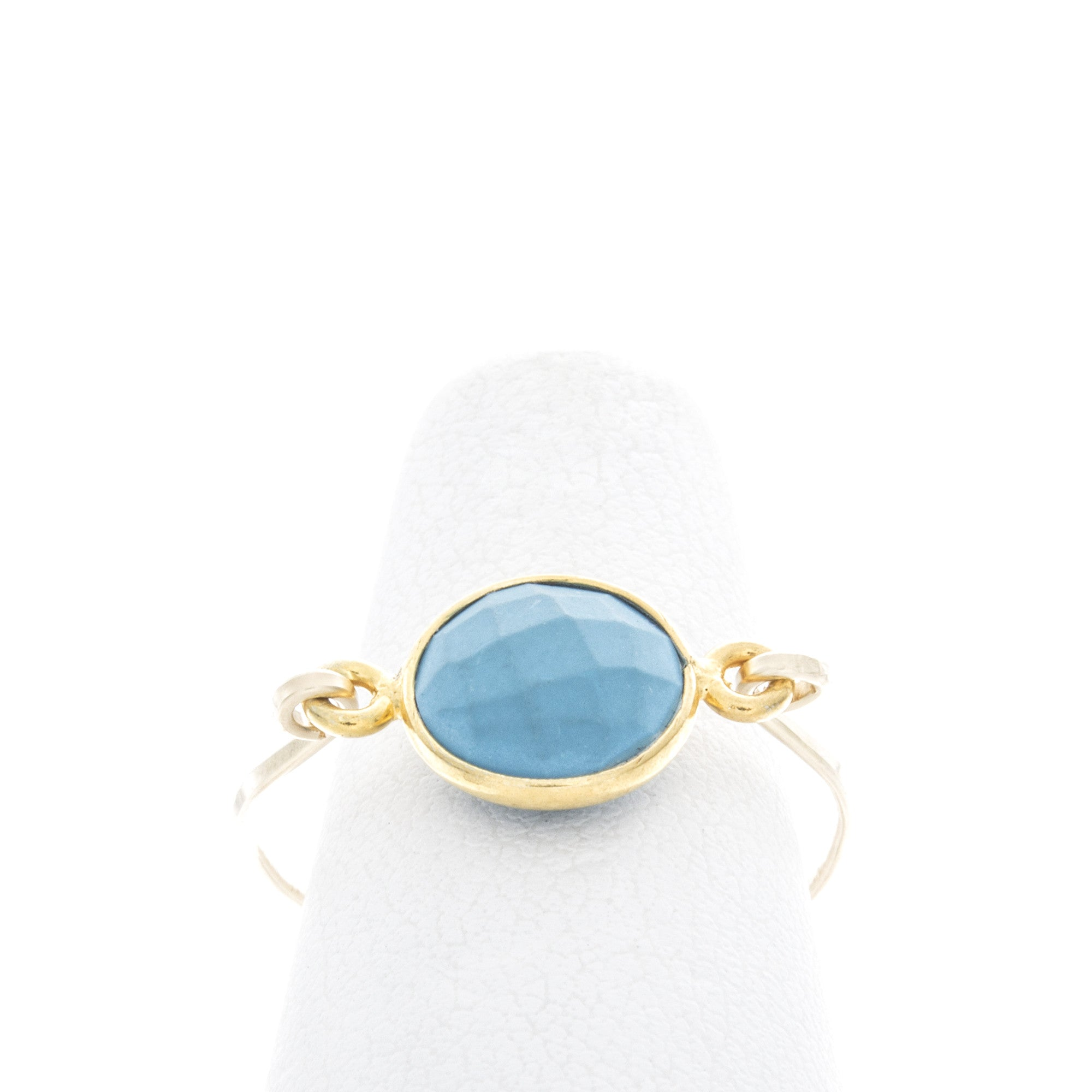 Round Gemstone Ring