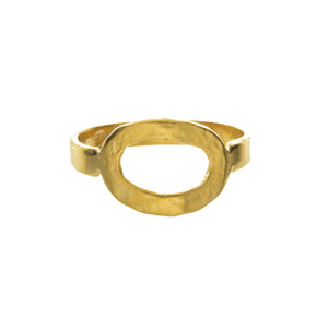 Oval Invisible Space Ring
