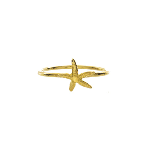 Starfish Knuckle Ring