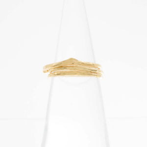 Twig Knuckle Ring set of 3