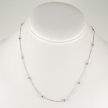 Iolite Bead Chain Necklace
