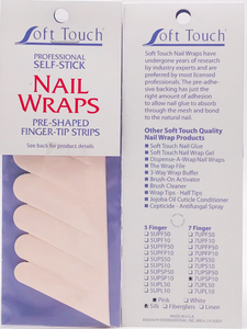 Seven Finger Pre-Cut Strips (10/Pk) Click to view all fabric options
