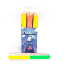 "Load image into Gallery viewer, 7"" x 3/4"" Disinfectable 4-Way Neon Files. Click to view all pack options"