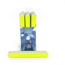 "Load image into Gallery viewer, 7"" x 3/4""  Disinfectable Files-Neon Yellow, X-Fine. Click to view all pack options"