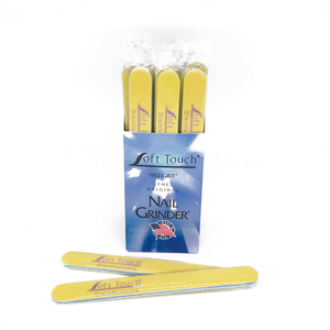 "7"" x 3/4"" Disinfectable St Tropez Mylar Files-Yellow, Fine 240. Click to view all pack options"