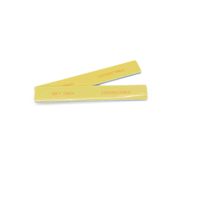 "7"" x 1 1/8"" Square St Tropez Mylar Disinfectable Files-Yellow. Click to view all pack options"