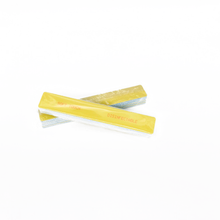 "Load image into Gallery viewer, 7"" x 1 1/8"" Square St Tropez Mylar Disinfectable Files-Yellow. Click to view all pack options"