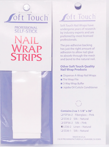 "Pre-Adhesive Wrap Strips 1 1/8"" x 36"" (2/pk) Click to view all fabric options"