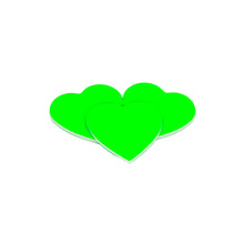 Load image into Gallery viewer, NSH Nail Sander Heart Neon Green 240
