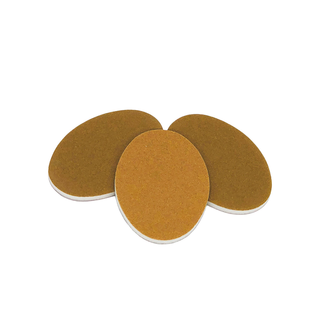 Nail Sander Oval, Imperial Gold 100/180. Click to view all pack options