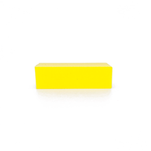 Load image into Gallery viewer, Disinfectable Blocks 3-sided Yellow Block, 240 Grit Click to view all pack options