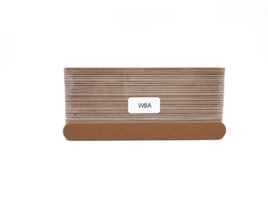 "7"" x 3/4"" Wood Emery Boards Imperial Gold, Coarse 100. Click to view all pack options"