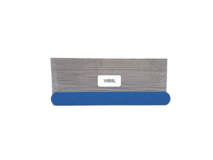 "7"" x 3/4"" Wood Emery Boards-Lt/Dk Blue, Coarse/Fine. Click to view all pack options"