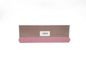 "7"" x 3/4"" Wood Emery Boards-Lt/Dk Pink, Fine 280/X-Fine 320. Click to view all pack options"