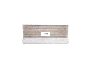 "7"" x 3/4"" Wood Emery Boards-Zebra Coarse. Click to view all pack options"