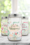 Count Your Blessings Gratitude Jar Printable Kit {18 Pages}
