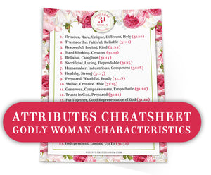 Proverbs 31 Woman Bible Study Bundle {259 pages + 10 items}