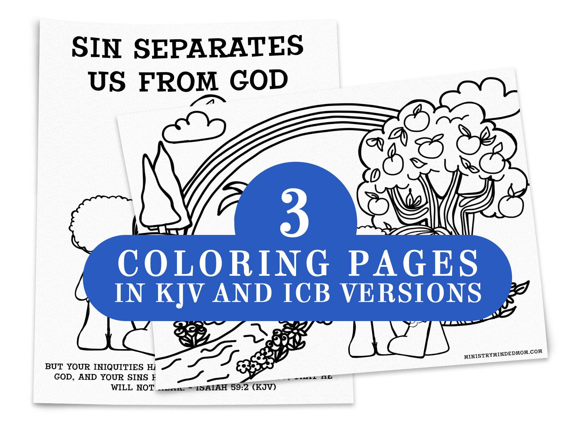 Sin Separates Us From God Balloon Object Lesson Pack