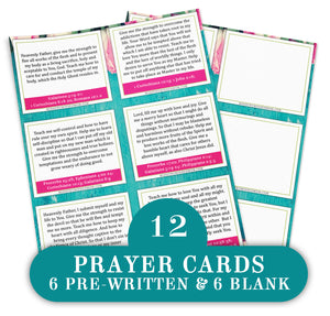 Spiritual Spring Cleaning Bible Study Bundle {112+ pages + 9 items}