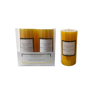 "13439 -  3""x6"" Candle - Yellow"