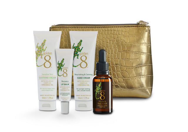 Travel Essentials Skin Care Kit by Golden 8