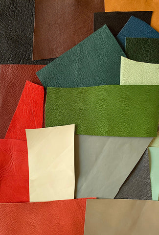 Leather pieces (for inlay/onlay/headbands)