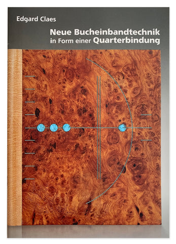 Book: New Book technique in the form of a quarter binding - Edgard Claes