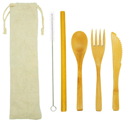 Eco Bamboo Cutlery Set