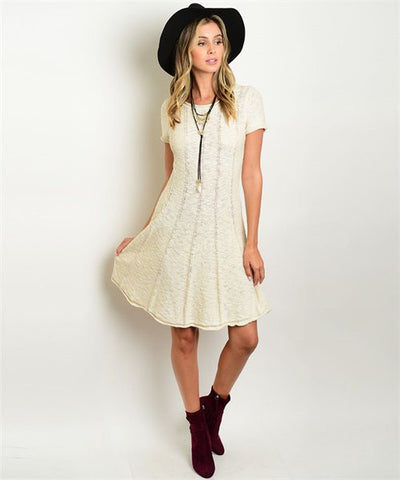 * Soho Sweater Dress in Natural