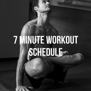 Quick 7 Minute Workout Schedule To Help You Stay Fit