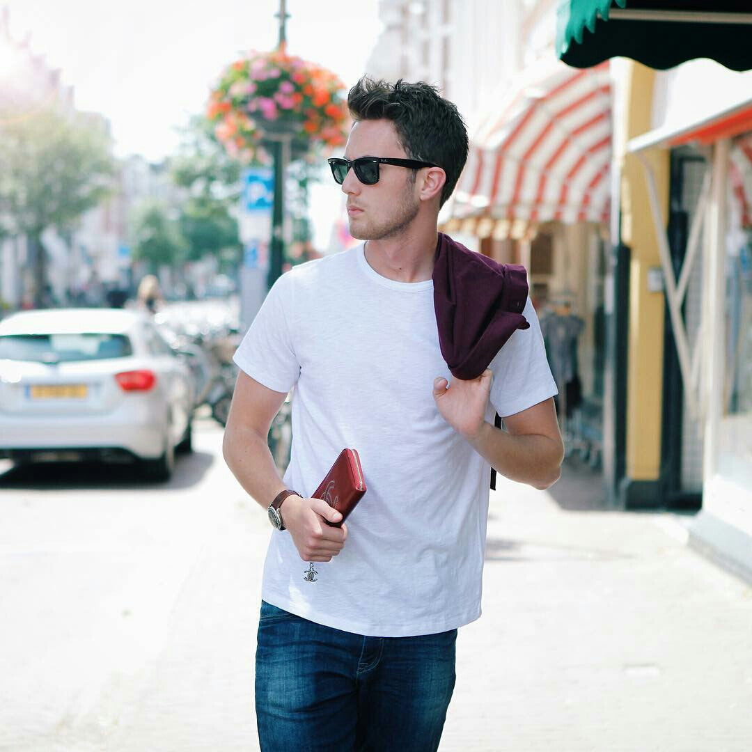 How To Wear White T-shirt - 7 Coolest Looks