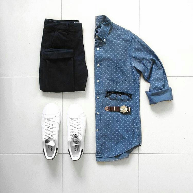 Coolest Casual Outfit Grids