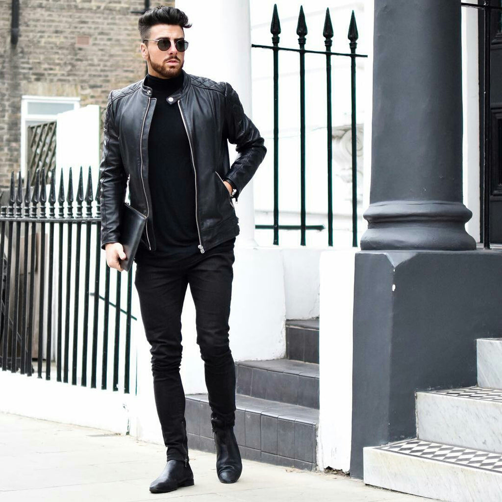 All Black Outfits For Men, Black on Black Outfit Inspiration