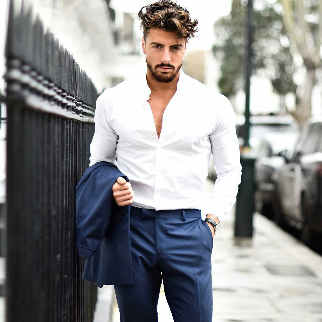 Navy & White Outfit Inspiration For Men – LIFESTYLE BY PS