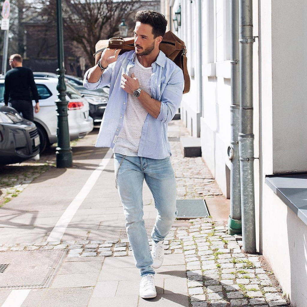 7 blogger approved summer outfit ideas lifestyle by ps for White t shirt style men
