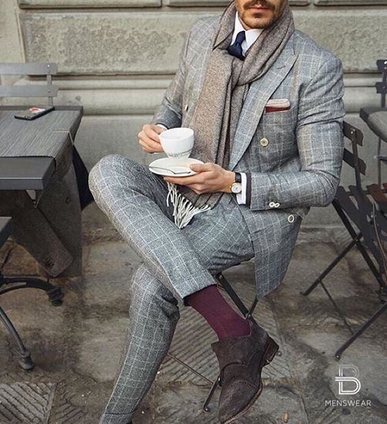 6 Dapper Ways To Wear Checkered Suits