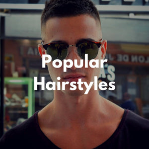 Men's Popular Hairstyles For 2016 Infographic