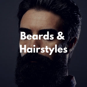 5 Beard & Hairstyle Infographics You'll Love