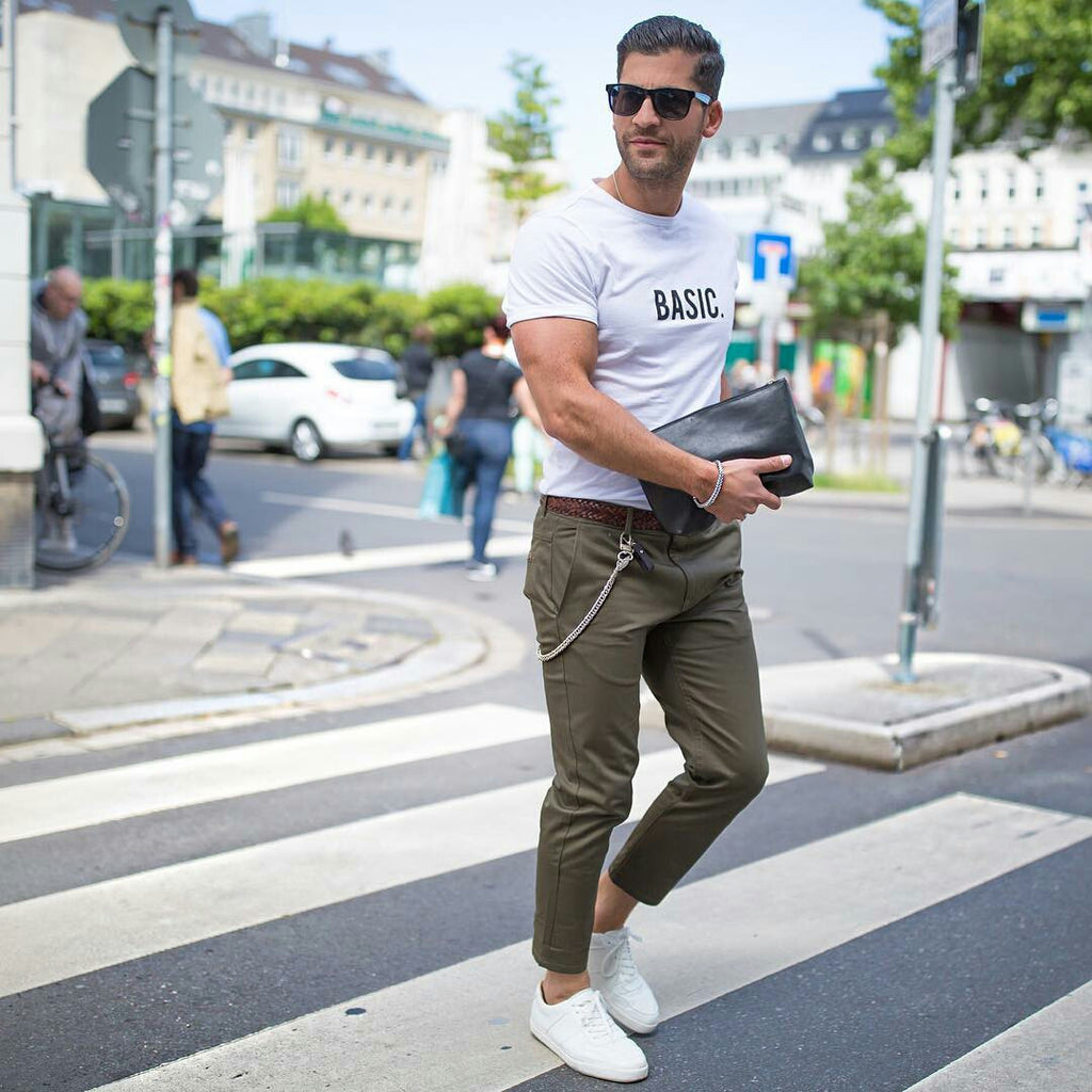 5 Ways To Wear Your Chinos Like A Street Style Star