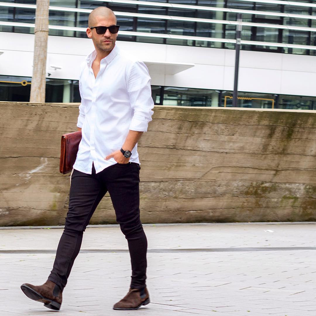 Smart White Shirt Outfit Ideas