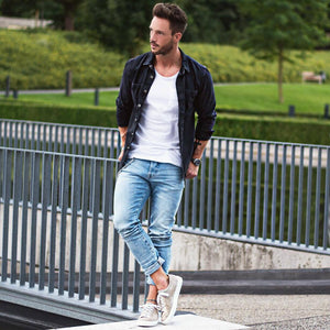 10 White T-shirt Outfits For Men