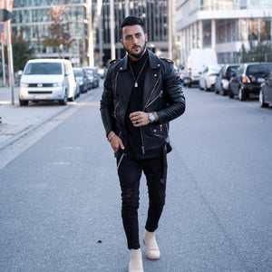 5 Coolest Leather Jacket Looks For Stylish Guys