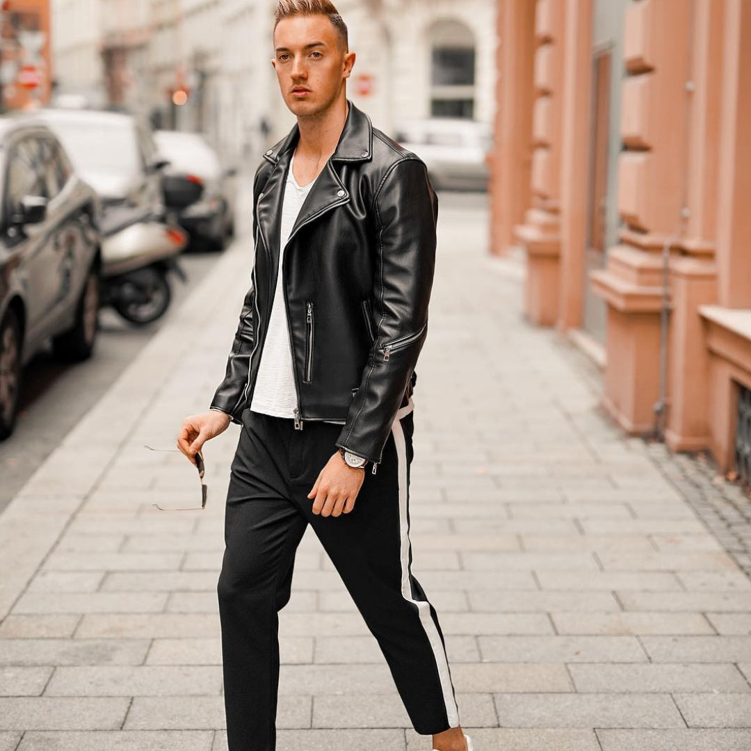 Outfit Ideas To Bring Your Leather Jacket Back To Life