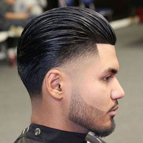 Slick Back Hair For Men. How To Style?