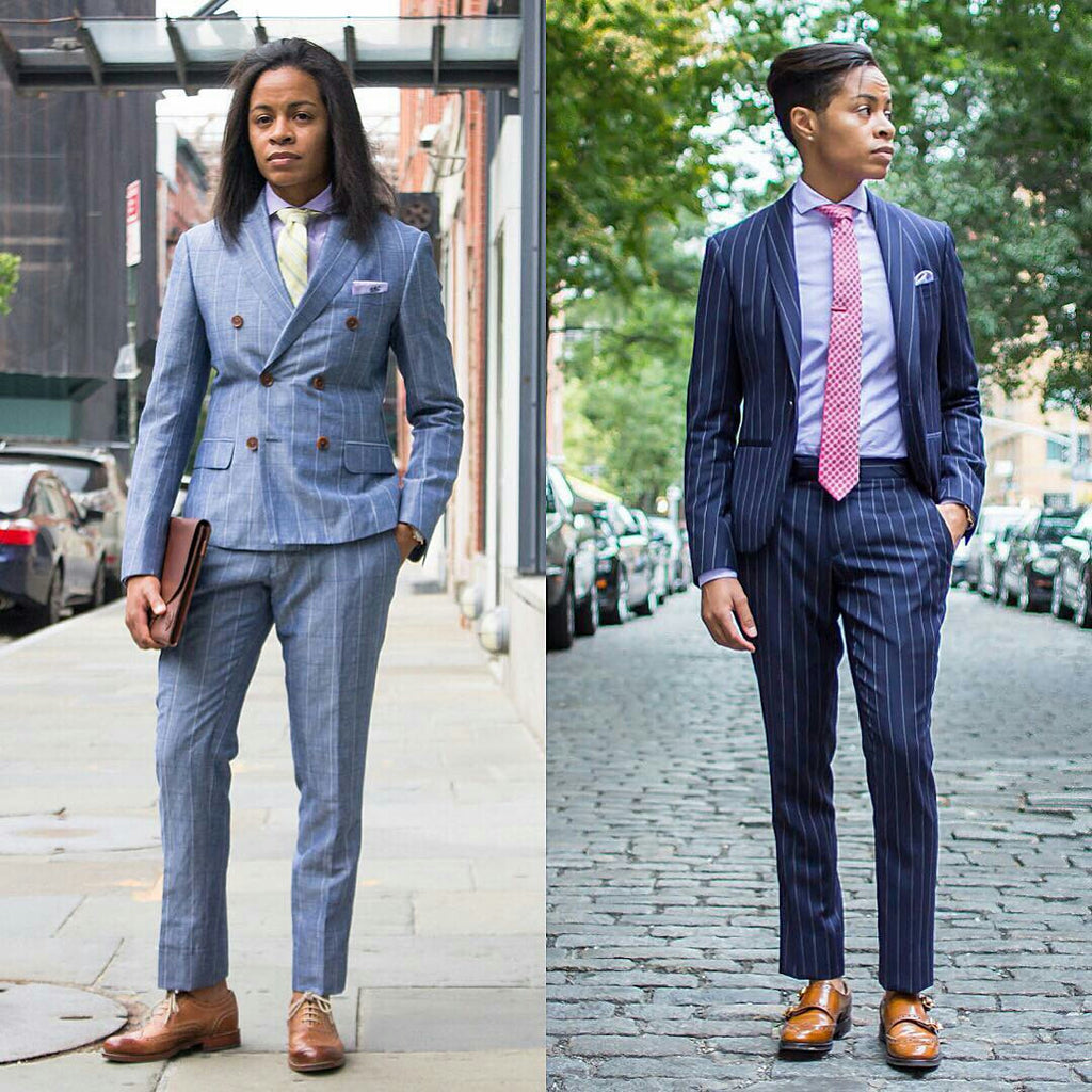 Meet The Woman Who Loves Menswear