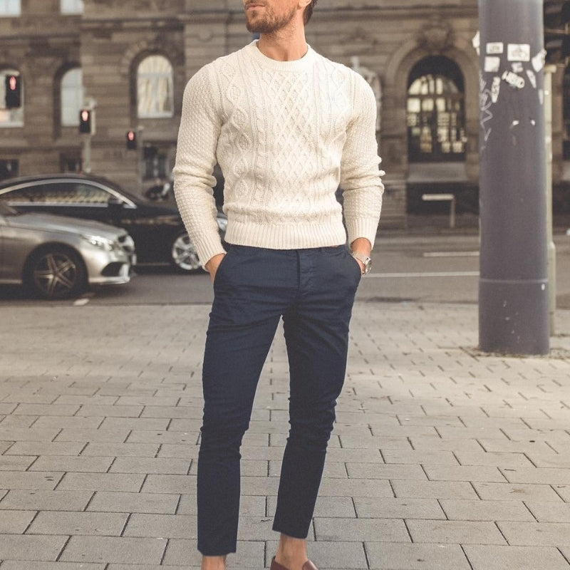 5 Cool Sweater Outfits For Men