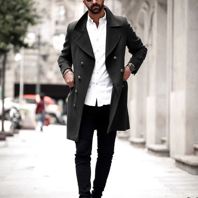 5 Coolest Long Coat Outfits For Men