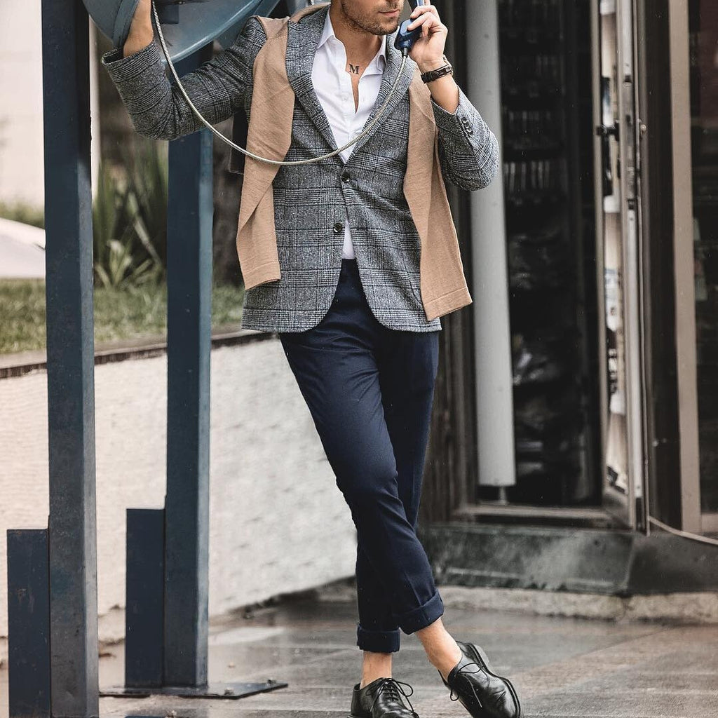 9 Edgy Ways To Wear Blazer Jacket For Men