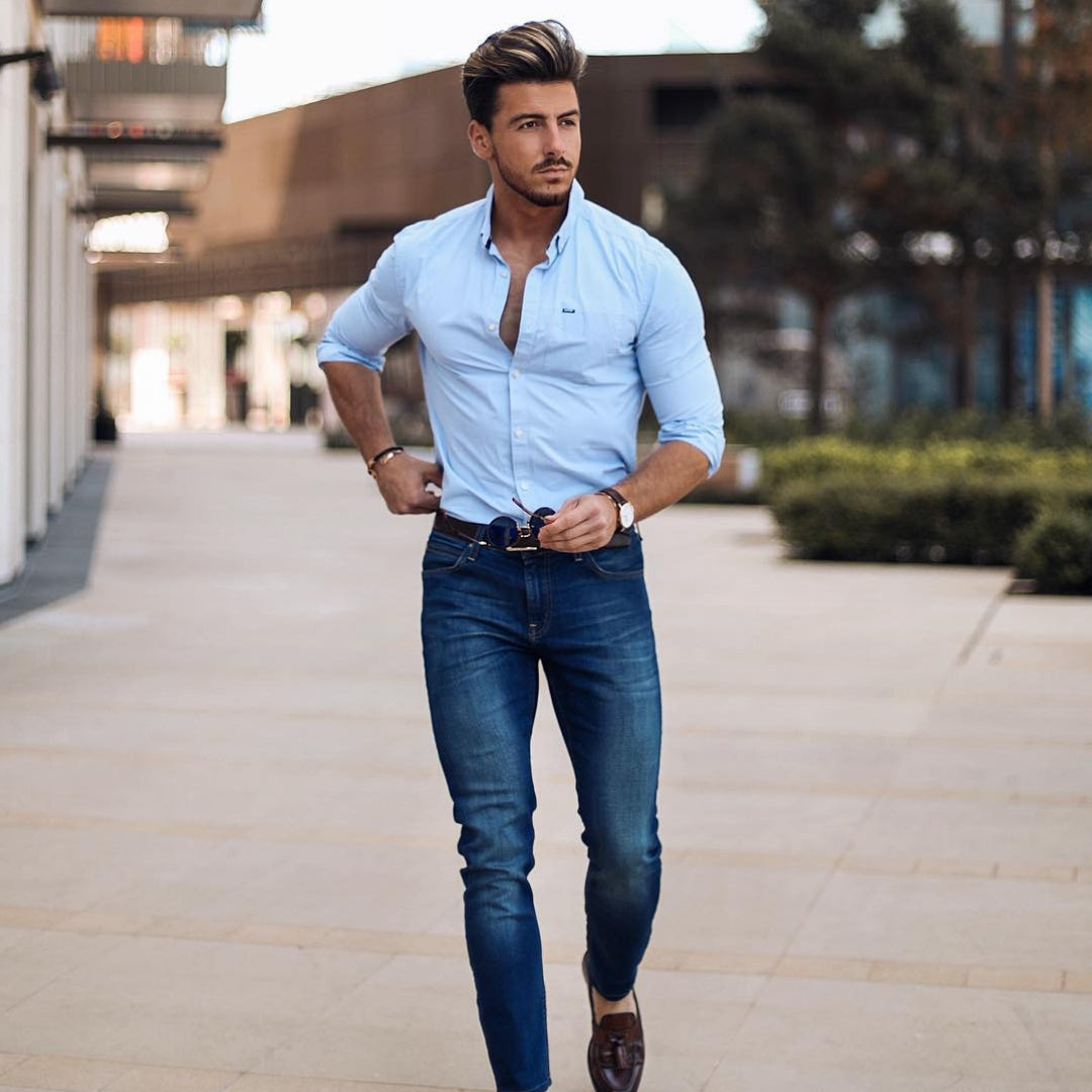 5 Simple Shirt Outfits For Men